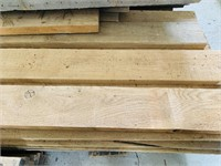 Large Pile of Boards/ Lumber, All Hardwood