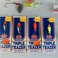 Lot of Fishing Tackle, Lures, Spinners, some NOS