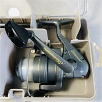 Shakespeare Open Face Reel Fishing Pole Kit