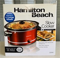 Hamilton Beach 8 qt Slow Cooker, like new cond.