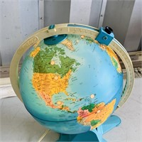 Vintage Light Up Discovery Globe by Fisher Price,