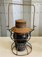 1913 Lantern, Glass looks Red with no cracks,