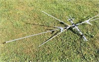 Outdoor TV Antenna, all Aluminum,8 ft span