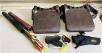 Browning Gun Holster, 2 Tree Seats, Arrows, etc