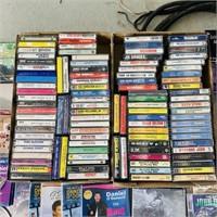 DVD's, CD's, Cassettes Lot