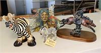 Lot of 4 Figurines