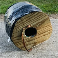 This was a Insulated Cat House