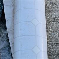 Roll of Linoleum, 3 carpet pieces