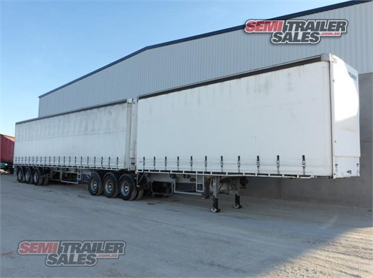 2013 Vawdrey Curtainsider Trailer Semi Trailer Sales Pty Ltd - Trailers for Sale