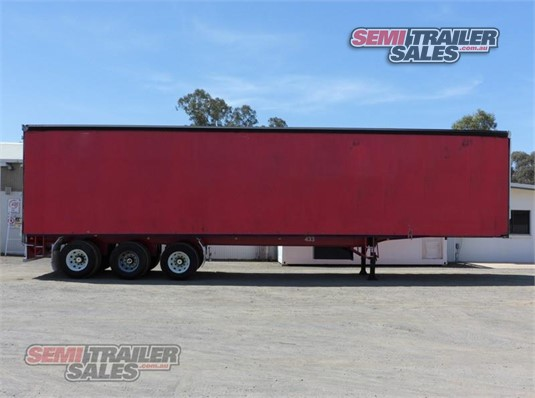 2007 Vawdrey Curtainsider Trailer Semi Trailer Sales Pty Ltd - Trailers for Sale