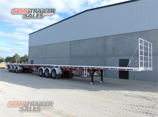 2006 Maxitrans Flat Top Trailer Semi Trailer Sales Pty Ltd - Trailers for Sale