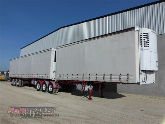2006 Vawdrey Refrigerated Curtainsider Trailer - Trailers for Sale