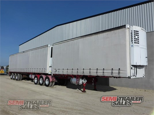 2006 Vawdrey Refrigerated Curtainsider Trailer Semi Trailer Sales Pty Ltd - Trailers for Sale
