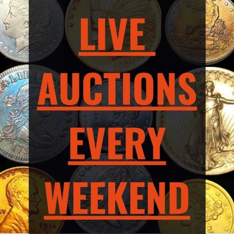 Sept. 27th Sat/Sun CA Surgeon Rare Coin Estate Sale Part 2