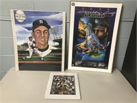 Lot of 3 Posters