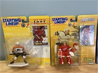 5 New Starting Lineup Figures