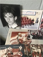 Lot of Red Wings Photos