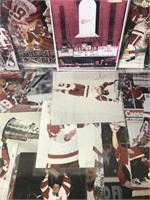 Red Wings Photo Lot