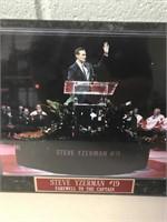 Steve Yzerman & Gordie Howe Plaques