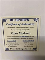 Signed Mike Modano with COA