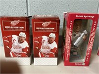 5 Detroit Red Wings Bobble Heads
