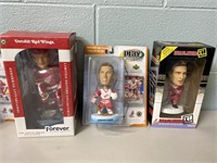 5 Detroit Red Wings Bobble Heads