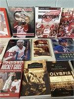 Lot of Hockey Books
