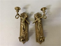 Solid Brass Wall Sconces
