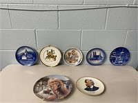 Lot of Collector Plates