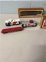 Tyco Train Cars and Track