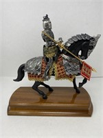 Mounted Horse and Knight