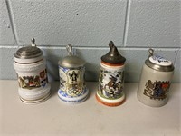 Lot of Steins