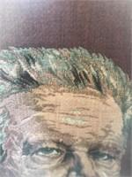 Framed Embroidered Print