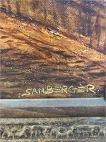 Oil on Canvas by Samberger