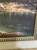 Oil on Canvas by Mantovani