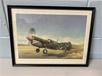 Curtiss P-40 Fighter Print
