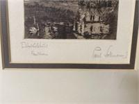 2 Antique German Prints