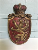 Wooden Decorative Shield