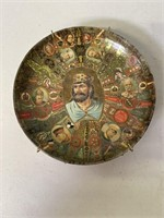 Solingen, Copper Teapot and Cigar Plate