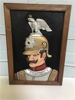 Framed Wooden Raised Picture