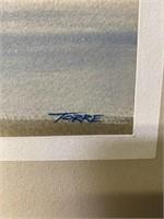 Framed Print by Torre