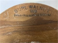 Burl Walnut Lot