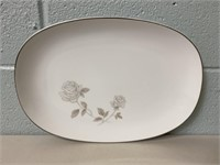Noritake Plate and Chandelier Shades