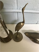 Collection of 4 Brass Items