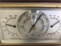 Barometer & Clock