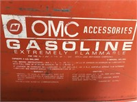 Vintage OMC Gasoline Can 6 Gallons
