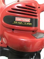 Craftsman Leaf Vacuum