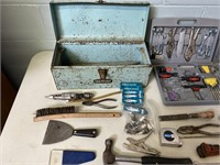Lot of Tools and Tool Box