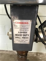 Cummins 9-Speed Heavy Duty Drill Press