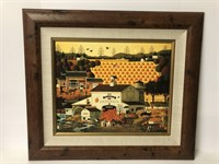 Charles Wysocki Print on Canvas